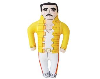Freddie Mercury Doll - Singer - British - Pop Star - Icon - LIMITED EDITION