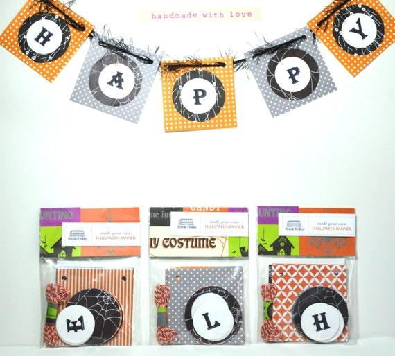 Halloween Banner / Halloween Decoration / Halloween Craft for kids / Halloween Kit