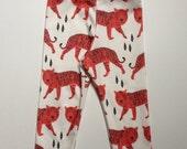 Red Tiger organic cotton legging