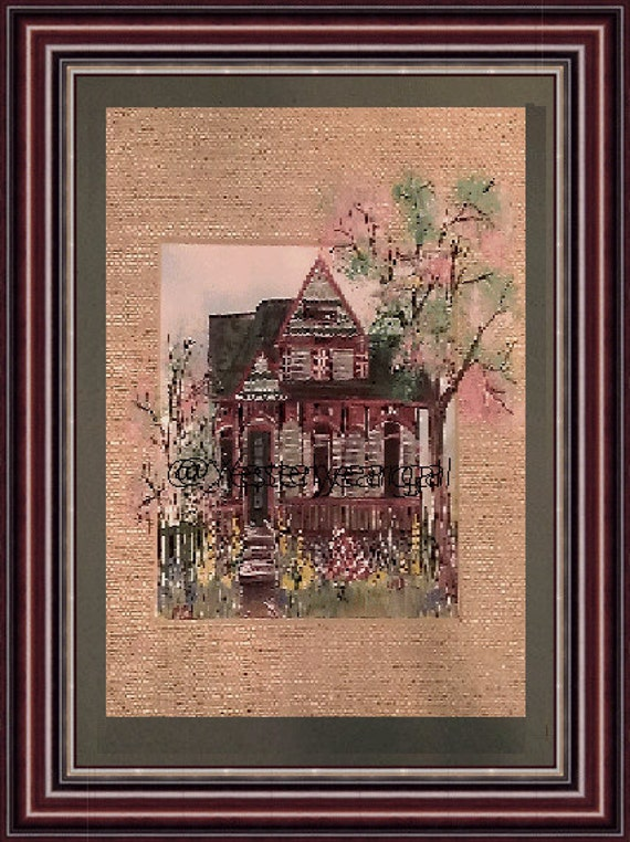 Victorian House Collection   Treasure Cottage  11 x 14