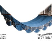 "Solid Color Handwoven Hammock Natural Cotton / Thread Thickness ""42"" (Very Durable)"