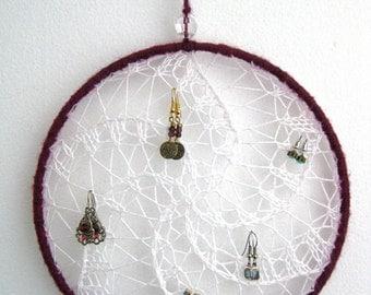 Dream Catcher Earring Holder Dream catcher wall hanging Etsy 9