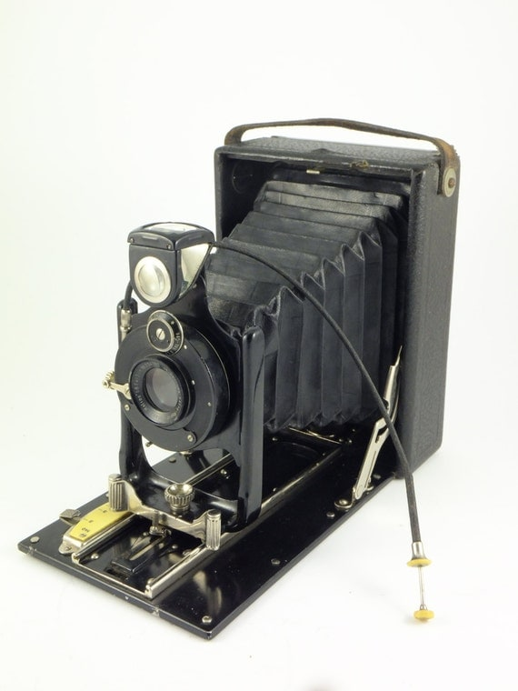 Vintage Rare Camera Ica Teddy 146 Folding Camera Made In