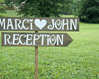 Rustic Country Wedding Signs Wood Wedding by CountryWeddingSigns
