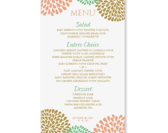 menu template microsoft word
