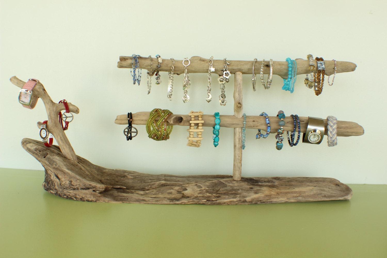 x large driftwood jewelry holder bracelet holder