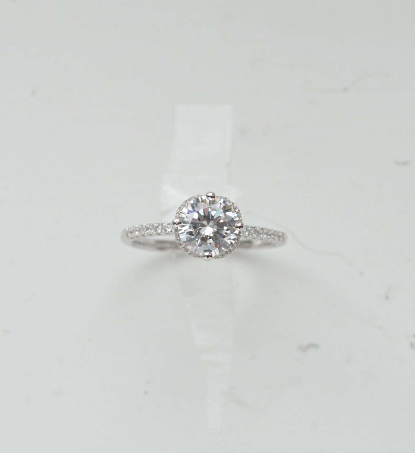 thin brilliant engagement ring engagement ring by