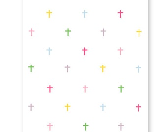 Personalized Easter Card, Single or boxed set with mix and match envelope, Religious