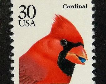 Cardinal Stamp Etsy