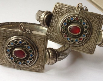 Set of anklets from Afghanistan