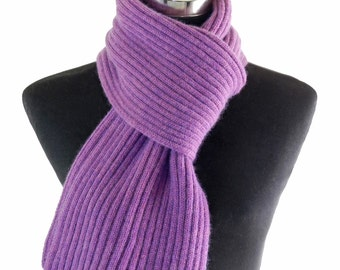 Scarf , Lilac ,  Cashmere.