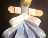 Disney Cinderella hair clip ribbon sculpture hairbow hair bow