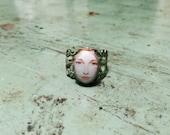 Mirror Mirror on the Wall Filigree Ring