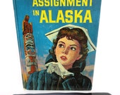 Retro Kindle Case Featuring Nurse in Alaska, with Totem Pole, fits Kindle Fire, Paperwhite, Nexus and Galaxy Tab Too