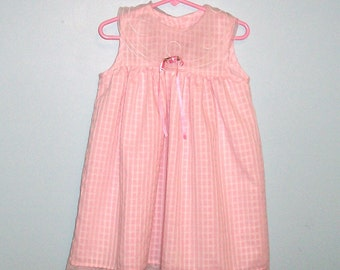Size 4T - Little Girls' Dress - by Goodlad - pink - made in USA