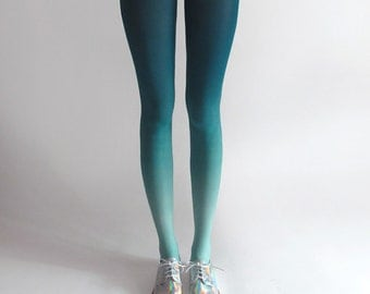 BZR Ombré tights in Mermaid *Discontinued*