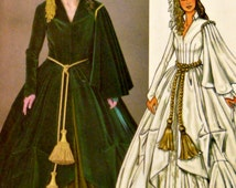 Women Costume Pattern Scarlett O'Hara Dress Hat Purse Gone with the Wind Gown Butterick 4051 Sewing Patterns Uncut FFolds Plus Size 18 20 22