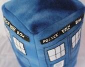 Wibbly-Wobbly Teeny-Weeny TARDIS Plush
