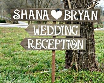 Wedding Reception Sign, Wedding Reception Decor, Wedding Reception Decorations, Rustic Wedding Signage, Rustic Wood Wedding Signs