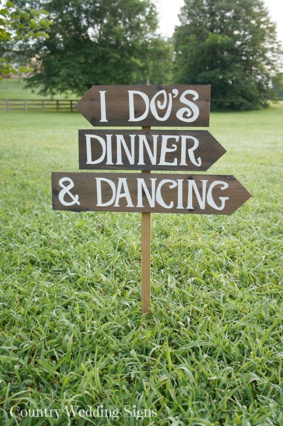 Wedding Signage Wedding Signs Wedding Ceremony Decor Wood