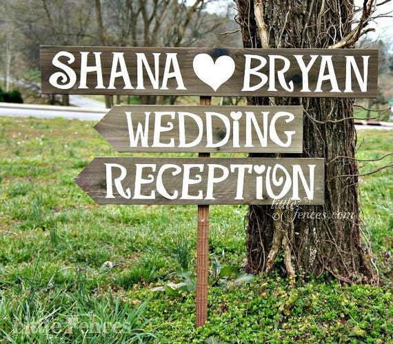 Wedding Reception Sign Wedding Reception Decor Wedding