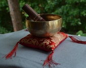 Handmade Finest Quality Singing Bowl  With Mallet & Cushion