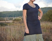 Organic dress- Handmade and dyed to order using eco friendly fibers and dyes