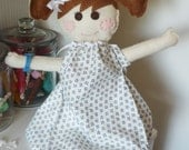 Boo Boo Annie Hospital Dolly - Floppy Felt Hospital Doll - Get Well Gift - A Perfect Chidren's Hospital Gift - 100% hand stitched
