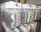 Holiday Dog Collar Covers - 6 Piece Package - Large