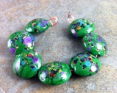 Emerald Isle Lampwork Bead Set