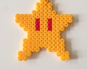 Star Power Up from Super Mario Bros. Fuse Bead Pixel Art