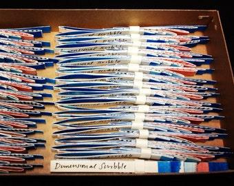 Artist's book - Dimensional Scribble