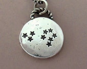 Constellation Necklace in Sterling Silver - Custom Stamped