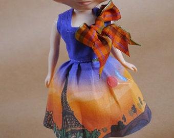Tiny City: Paris Dress for Blythe