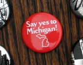 Say Yes to Michigan Pins - Set of Three