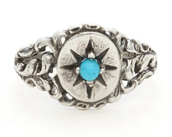 Turquoise Ivy Ring