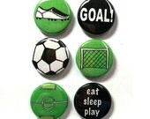 Soccer Magnets or Pins - ...
