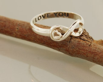 SALE Infinite Love with I Love  You