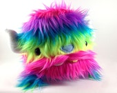 Limited Edition Neon Rainbow Baby Yak