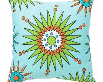 Stylish Pillow Cover 18x18 Starflower Daisies