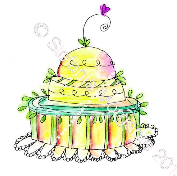 Paper Digital sheet Printable lemon CAKE-scrapbooking-Download and print-300 DPI