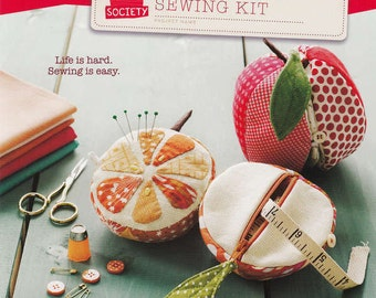 Apples to Oranges Sewing Kit - Straight Stitch Society - Sewing Pattern