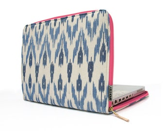 "Laptop Case - 12"" MacBook or 11"" MacBook Air - Ikat"