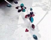 Yule Fairy Art Nouveau Torc Necklace