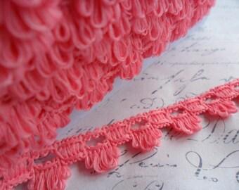 Sweet Scalloped Bubblegum Pink Braid Trim