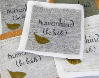Humankind be both or mix and match PATCHes FIVE Pieces and Parts PATCH