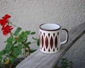 Vintage Mid Century Modern  Mug