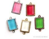 Make Glass Gem Jewelry with Bella Paint Glass Paint. Heat Cured. Three 2 oz. Jars. Free Video tutorial.