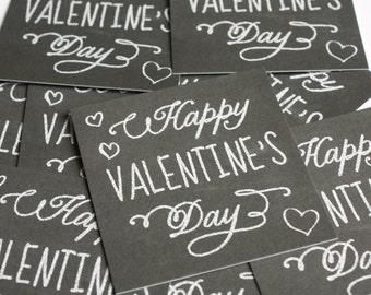 Valentine Tags - set of 12