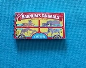 Animal Crackers Box Recycled Note Pad